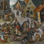 PIETER BRUEGHEL THE YOUNGER THE SEVEN ACTS OF MERCY