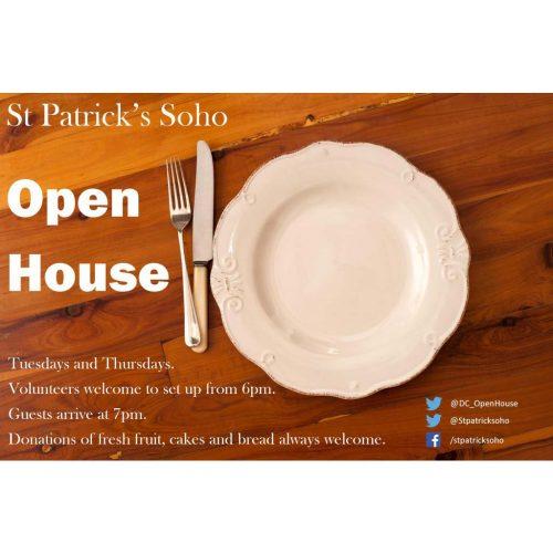 Feed the Homeless – St Patrick's Soho